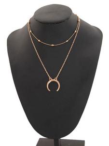 Image of Collana a ciondolo a catena a forma di collana con ciondolo a ca