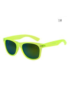 Image of Occhiali da sole unisex Occhiali da sole a forma quadrata verde