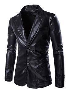 Image of Abiti casual da uomo 2019 Uomo Casual Blazer Giacca in metallo c