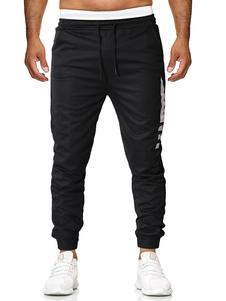 Image of Pantalone da jogging da uomo Pantalone da jogging nero con couli
