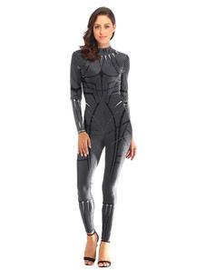 Image of Costumi da Supereroe da donna Tuta in poliestere con stampa pant