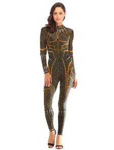 Image of Costume da Supereroe da donna Panther Deluxe Tuta Halloween