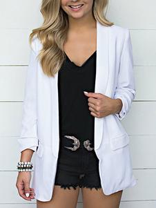 Image of Giacca da donna giacca giacca collo manica lunga con colletto ro
