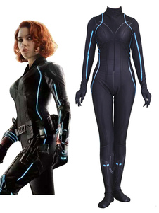 Image of Carnevale Body Marvel  's The Avengers Cosplay Black Widow T