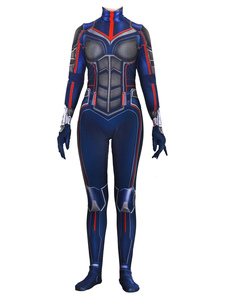Image of Carnevale Ant-Man Cosplay Wasp Tuta Marvel Comics Cosplay person