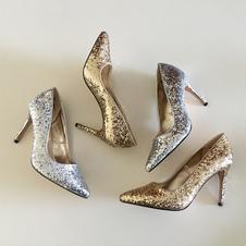 Image of Festa della donna Scarpe glitter Tacchi alti tacco a spillo scar
