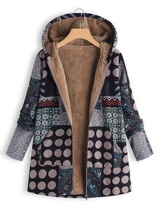 Image of Cappotto per donna Cappotto invernale nero casual con cerniera c