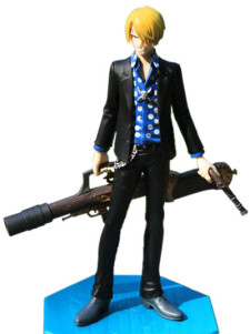ONE PIECE STRONG WORLD Sanji Vinyl PVC Anime Action Figure