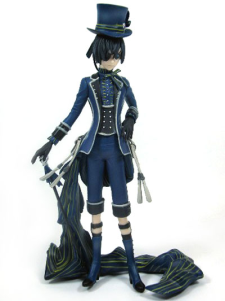 Black Butler Ciel Phantomhive PVC Anime Action Figure