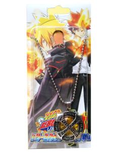 Katekyo Hitman Reborn Yellow Alloy Anime Necklace