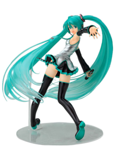 Sexy Vocaloid Hatsune Miku PVC Anime Action Figure