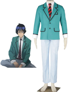5 piezas Nylon Bakuman uniforme escolar cosplay Halloween