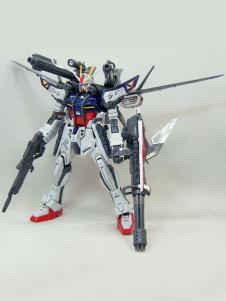 Gundam Seed Sven Cal Bayan Strike Noir Anime Modal Kit