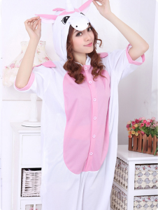 Kigurumi Pajamas Pig Onesie For Adult Cotton Animal Costume