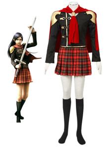 Final Fantasy Type0 Suzaku Peristylium Class Zero NO.12 Queen Cosplay Costume