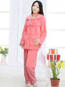 cosy-watermelon-flower-cotton-blend-maternity-sleepwear