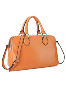 Concise Chic Horizontal Cowhide Woman's Tote Bag