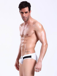 color-blocking-white-spandex-mens-lingerie
