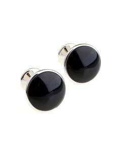 round-black-stone-men-cufflinks