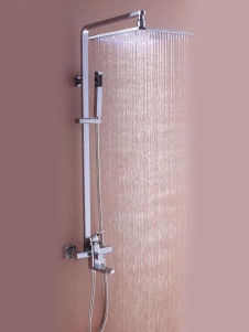Great Color Changing Led Shower Set Panel With Hand Shower