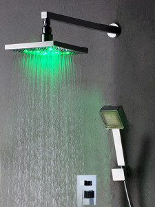 Beautiful Color Changing Led Shower Set Panel With Hand Shower