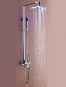 Upmarket Color Changing Led Shower Set Panel With Hand Shower