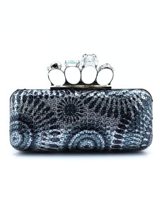 Vintage Beaded Artwork Evening Bag for Woman