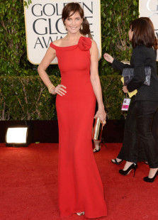 elegant-sheath-red-bateau-flower-carey-lowell-golden-globe-dress