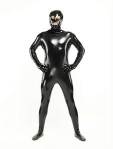 Image of Abbigliamento PVC unisex con fori per occhi e bocca  Carnevale
