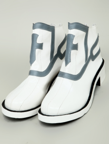 Sword Art Online Yuki Asuna PU Cosplay Shoes