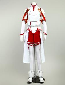 Sword Art Online Yuuki Asuna Cosplay Costume SAO Asuna Halloween Cosplay Costume