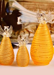 Stylish Golden Angel Table Centerpiece Set