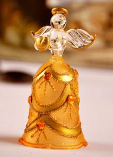 European Style Golden Rhinestone Angel Table Centerpiece