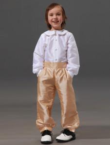 Image of Abito da cerimonia per bambino in taffetà con pantaloni