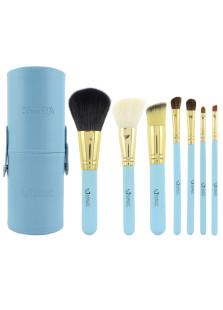 Image of Fresco blu 7 Pcs Professional Make-Up Brush Set