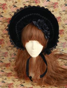gothic-black-velour-stylish-lolita-hat