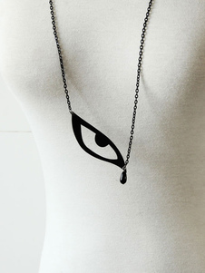 fantasy-black-eye-pattern-cotton-lolita-necklace
