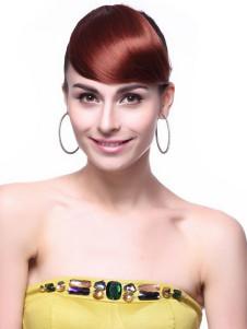 Milanoo UK  Trendy Burgundy Kanekalon Hair Extensions For Women