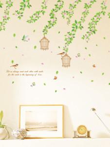 Pegatinas de pared de tema de flores & plantas