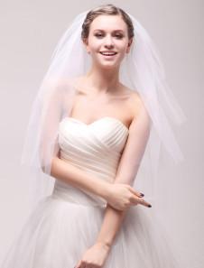 ivory-three-tier-net-bridal-wedding-veil