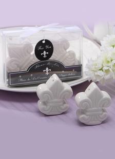 Image of Favori di pratico contenitore bianco pepe in ceramica