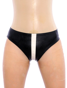 halloween-stylish-black-panty-latex-underwear