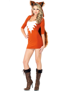 Halloween Sexy Orange Cotton Blend Woman's Sexy Costume
