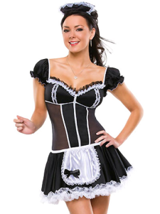 halloween-lovely-net-quality-maid-costume