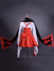 Image of Costume per cosplay Inu x Boku SS di Shirakiin Ririchiyo con sciarpa Carnevale