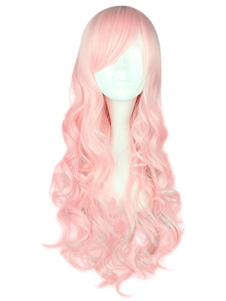 light-pink-lolita-long-wig-curls-rayon-sideswept-bangs