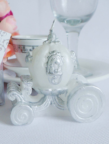 white-4-piece-carriage-wax-candle-favors