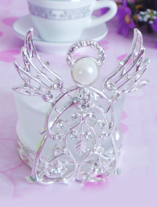 transparent-angel-pattern-wax-candle-favors