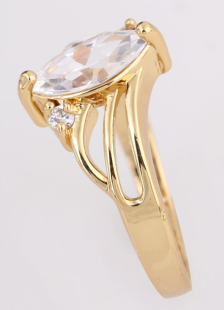 gold-geometric-glass-marquise-bronze-beautiful-ring