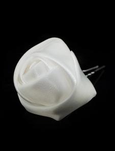 Image of 1 Pezzo metallo satinato qualità tornante per matrimonio